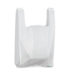 liasse de sac bretelle blanc