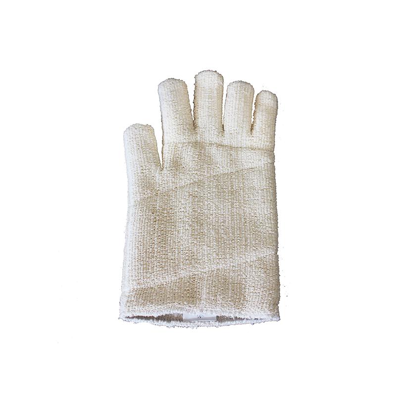 gant anti-chaleur blanc
