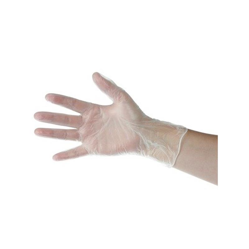 gant vinyle transparent jetable