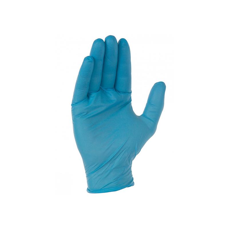 gant nitrile bleu jetable