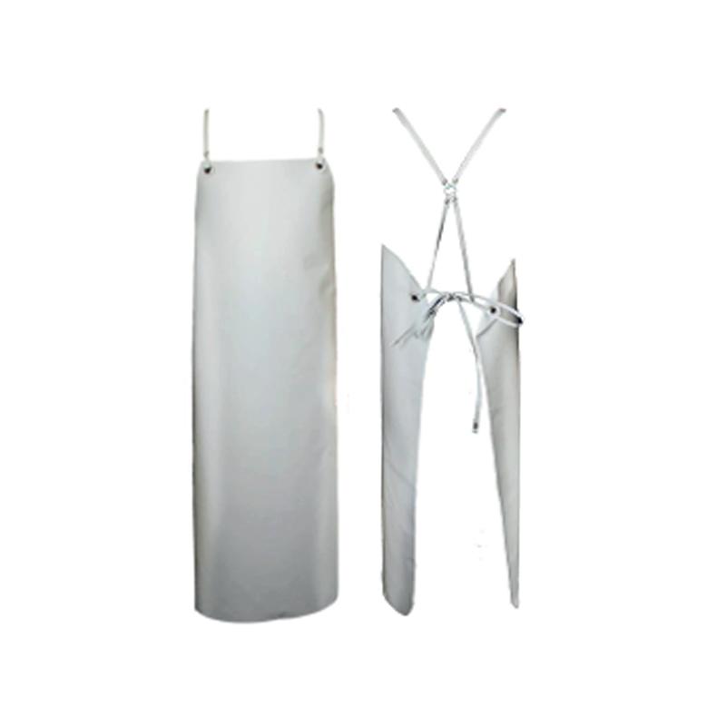 tablier nitrile blanc à attache standard