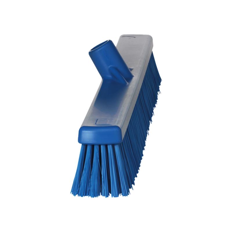 brosse de balai plastique bleu